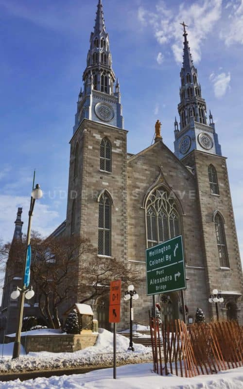 ottawa one day tour - NOTRE-DAME CATHEDRAL BASILICA