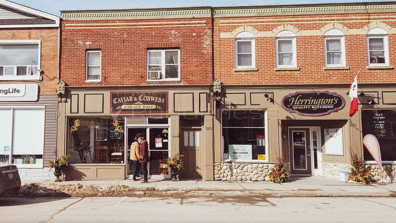day trips from toronto - port perry stores
