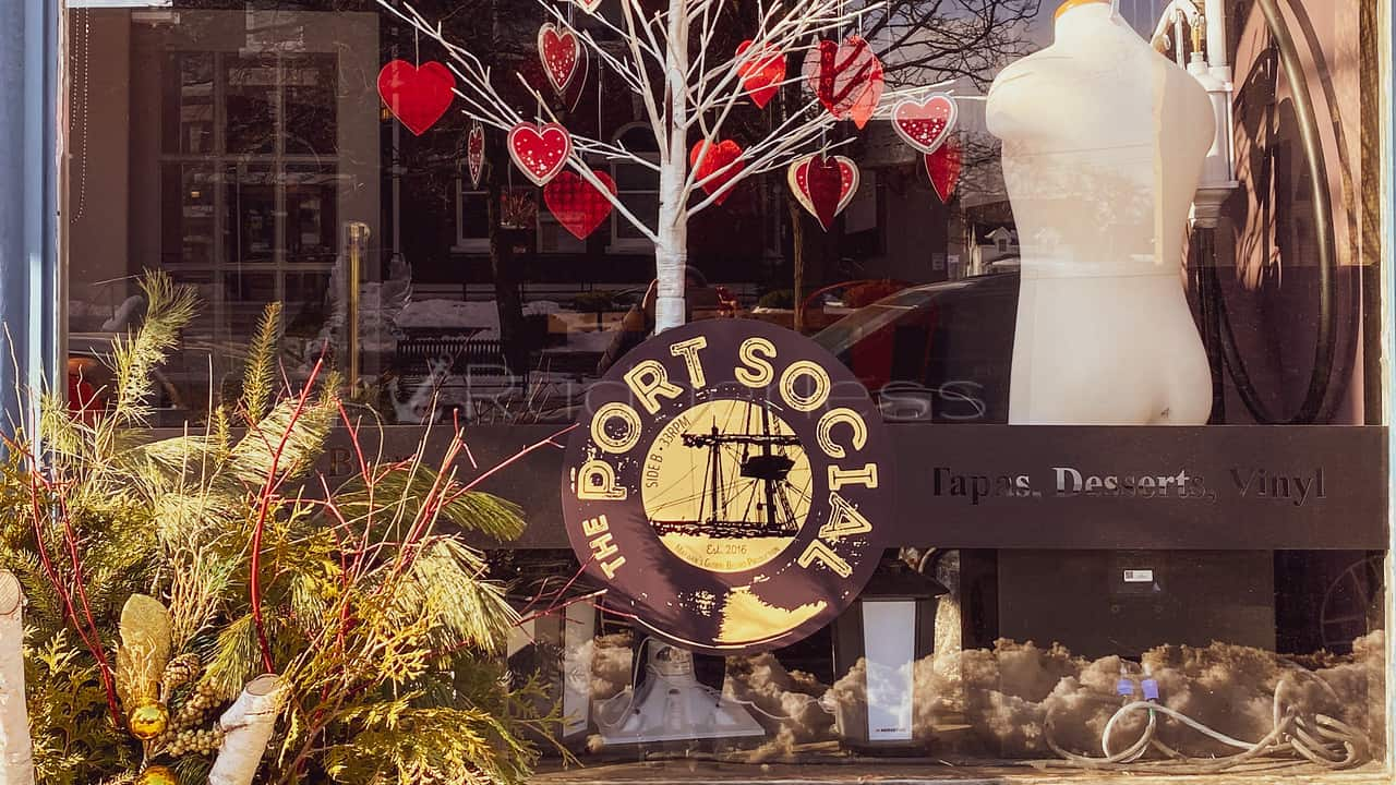 port perry restaurants on the water - the port social