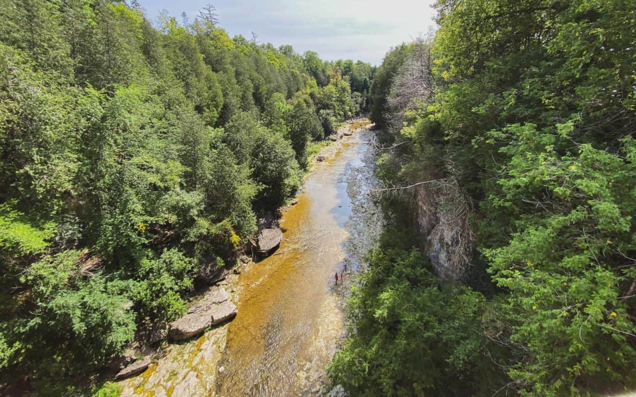elora gorge lookout