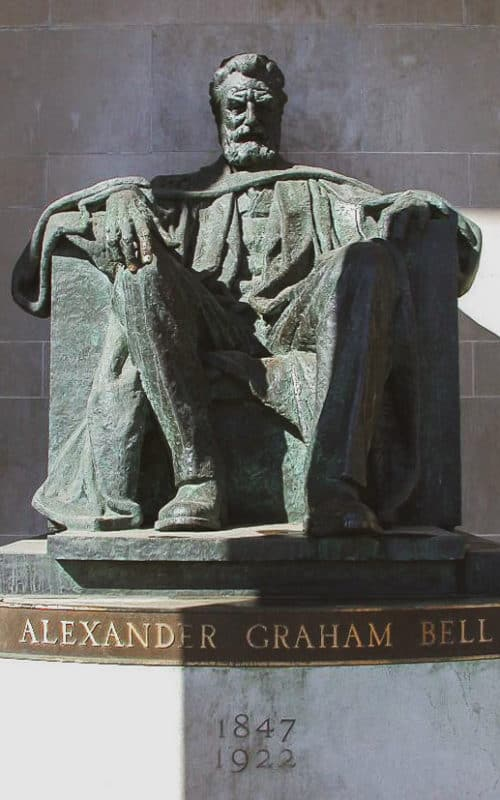 fun things to do in brantford - alexander graham bell statue