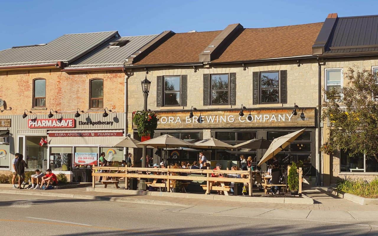 places to eat in elora